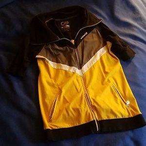 Eckored zip up sweatshirt